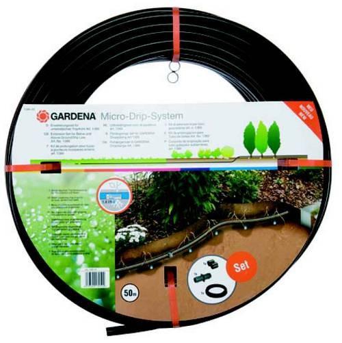 Micro-Drip-System Tropfrohr unterirdisch 13,7 mm, 1,6 l/h, 50 m, Erweiterungsset für Art.-Nr. 1388 m